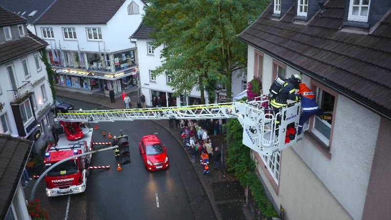 Feuerwehr Attendorn Schlussübung
