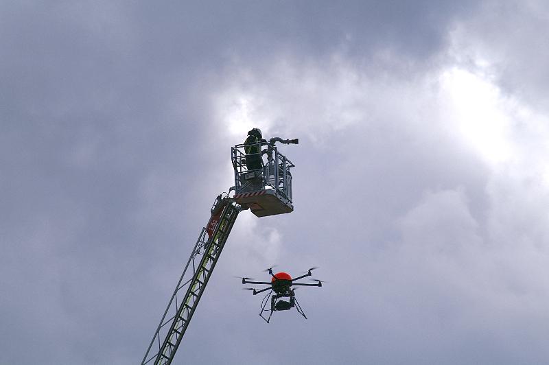 Feuerwehr Plettenberg Übung