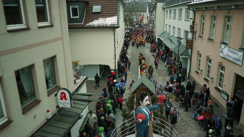 Attendorner Veilchendienstagzug 2013